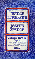Mance Lipscomb and Joseph Spence poster